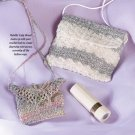 W687 Crochet PATTERN ONLY Set of 2 Mini Purses Patterns