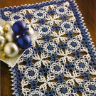 W491 Crochet PATTERN ONLY Winter Fantasy Intricate Lace Doily Pattern
