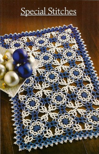 W491 Crochet PATTERN ONLY Winter Fantasy Intricate Lace Doily Pattern