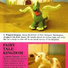 W542 Crochet PATTERN ONLY Winged Dragon and Fairy Tale Unicorn Toy Patterns