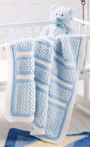 W559 Crochet PATTERN ONLY Baby Bubble Wrap Blanket Afghan Pattern