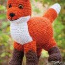 W578 Crochet PATTERN ONLY Wily Little Woodland Fox Doll Toy Pattern