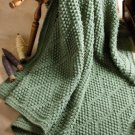 W591 Crochet PATTERN ONLY Bobble Popcorn Stitch Diamonds Afghan Pattern