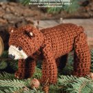 W598 Crochet PATTERN ONLY Northwoods Brown Bear Toy Doll Pattern