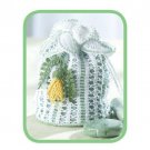 W622 Crochet PATTERN ONLY Kowhai Flower Bag Purse Pattern