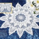 W635 Crochet PATTERN ONLY Aggravation Pineapple Doily 2 Versions Pattern