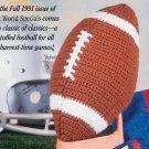 W640 Crochet PATTERN ONLY Football Toy Pattern