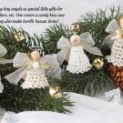 W645 Crochet PATTERN ONLY Christmas in July Angels Ornament Pattern