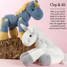 W654 Crochet PATTERN ONLY Horse and Unicorn Toy Doll Patterns Pony