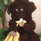 W671 Crochet PATTERN ONLY Josua the Monkey Toy Doll Pattern