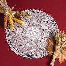 W683 Crochet PATTERN ONLY Beribboned Pineapple Whirl Doily Pattern