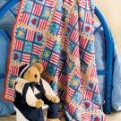 W691 Crochet PATTERN ONLY Crochet Edged Fleece Afghan Pattern Mixed Media