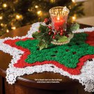 W702 Crochet PATTERN ONLY Seeing Stars Christmas Doilies Pattern