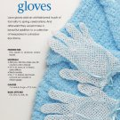 W713 Crochet PATTERN ONLY Lacy Gloves & Short Jacket Pattern