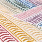 W717 Crochet PATTERN ONLY Rainbow Ripple Afghan Throw Pattern