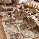 W718 Crochet PATTERN ONLY Mitered Squares & Textured Blocks Afghan Patterns