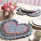 W729 Crochet PATTERN ONLY Rag Crochet Place Mat Placemat Pattern