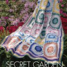 W751 Crochet PATTERN ONLY Secret Garden Afghan Throw Pattern