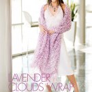 W770 Crochet PATTERN ONLY Luxurious Soft as Clouds Wrap Shawl Pattern