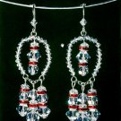 W786 Beaded PATTERN ONLY Razzle Dazzle Earring or Ornament Pattern