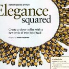 W790 Bead PATTERN ONLY Beaded Elegance Squared Necklace Pattern