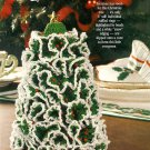 W791 Crochet PATTERN ONLY Tiny Tannenbaum Christmas Tree Ornament Pattern 6""
