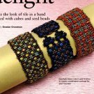 W792 Bead PATTERN ONLY Beaded Cube Delight Bracelet Cuff Pattern