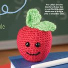 W797 Crochet PATTERN ONLY Amigurumi Apple Toy Pattern An Apple a Day!