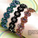 W802 Bead PATTERN ONLY Beaded Dazzling Diamonds Bracelet Pattern