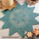 W803 Crochet PATTERN ONLY Elegant Twilight Stars Doily Pattern