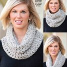 W808 Crochet PATTERN ONLY Speckled Neck Warmer Cowl Pattern