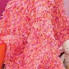 W810 Crochet PATTERN ONLY Loop-d-Loop Blankie Afghan Throw Pattern
