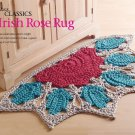 W831 Crochet PATTERN ONLY Classic Irish Rose Rug Pattern