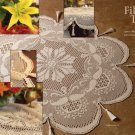 W832 Filet Crochet PATTERN ONLY Fancy Filet Crochet Tablecloth Pattern