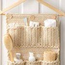 W838 Crochet PATTERN ONLY Bathroom Door Organizer Pattern