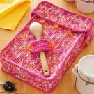 W839 Crochet PATTERN ONLY Potluck Dish Cozy Pattern