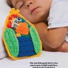 W856 Crochet PATTERN ONLY Goony Bird Tooth Fairy Pillow Pattern
