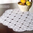 W857 Crochet PATTERN ONLY Triangle Doily Pattern