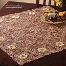 W859 Crochet PATTERN ONLY Chrysanthemum Table Topper Doily Pattern