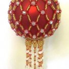 Z245 Bead PATTERN ONLY Beaded Hardwick Christmas Ornament Cover