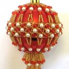 Z243 Bead PATTERN ONLY Beaded Palace Christmas Ornament Cover