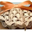 Z049 Crochet PATTERN ONLY Wedding Bells Ornament Pattern