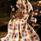 Z053 Crochet PATTERN ONLY Dresden Plate Favorite Afghan Pattern