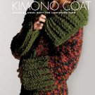 Z054 Crochet PATTERN ONLY Kimono Coat Pattern