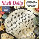 Z062 Filet Crochet PATTERN ONLY Seashell Shell Doily Pattern