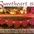 Z064 Crochet PATTERN ONLY Sweetheart Heart Swag Pattern Valentine's Day
