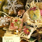 Z072 Crochet/Ribbon Embroidery PATTERN ONLY Snowflakes & Ornaments Christmas