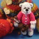 Z082 Crochet PATTERN ONLY Jodi Bear Collectible Doll Pattern