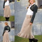 Z279 Crochet PATTERN ONLY Vintage Connections Easy to Wear Longer Skirt Pattern