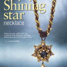 Z310 Bead PATTERN ONLY Beaded Shining Star Necklace Pendant Ornament